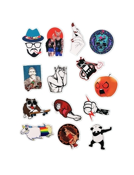 50 Pcs/Pack Classic Fashion Style Graffiti Stickers For Moto Car & Suitcase Cool Laptop Stickers Skateboard Sticker by Us Toy Store