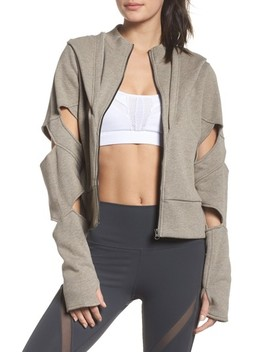 Mix Hooded Jacket by Alo