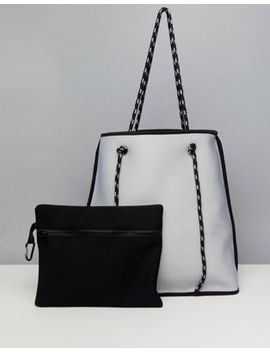 Asos Reversable Scuba Holdall With Removable Pouch by Asos Collection