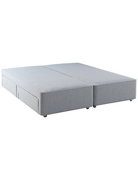 Hypnos Firm Edge 4 Drawer Divan Storage Bed, Super King Size by Hypnos