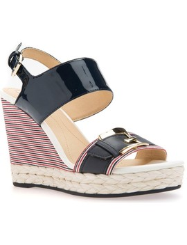 Janira 11 Espadrille Wedge by Geox