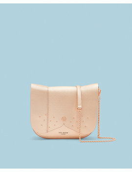 Leather Dog Cross Body Bag by Ted Baker