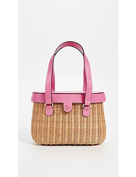 Arielle Wicker Satchel by Frances Valentine