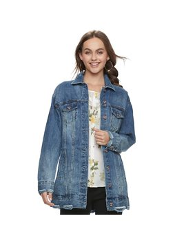 Juniors' Candie's® Destructed Denim Jacket by Juniors' Candie's