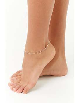 Delicate Bar Chain Anklet by Forever 21