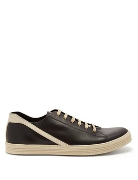 Geothrasher Low Top Leather Trainers by Rick Owens