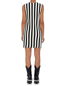 Striped Compact Knit Shift Dress by Calvin Klein 205 W39 Nyc