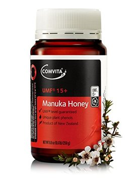 Comvita Certified Umf 15+ (Super Premium) Manuka Honey I New Zealand's #1 Manuka Brand I Non Gmo, Halal, And Kosher Certified I 250g (8.8oz) by Comvita
