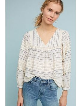 Charlie Peasant Top by Velvet By Graham & Spencer