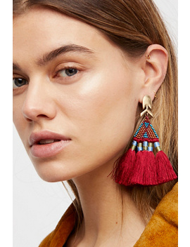 Maricopa Beaded Earrings by Free People