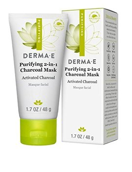 Derma E Purifying 2 In 1 Charcoal Mask Face Mask, 1.7 Ounce by Derma E