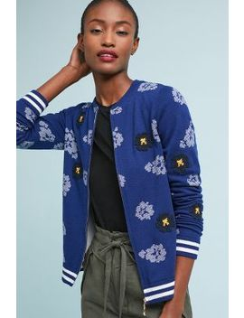 Floral Bomber Jacket by Seen Worn Kept