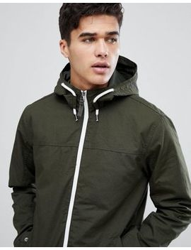 Jack & Jones Originals Lightweight Hooded Jacket With Contrast Zip by Jack & Jones