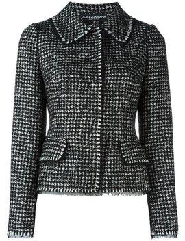 Tweed Jacket by Dolce & Gabbana
