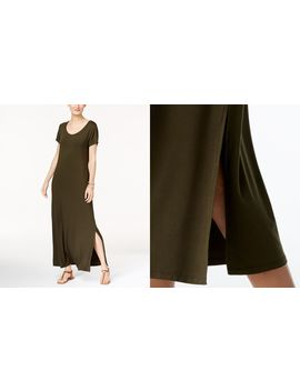 Petite Scoop Neck Maxi Dress, Created For Macy's by Style & Co
