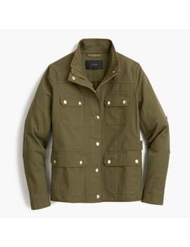 Uncoated Downtown Field Jacket by J.Crew
