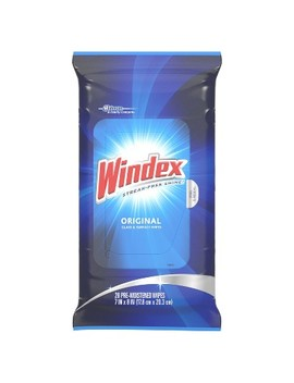 Windex Original Glass And Surface Wipes   28ct by Windex