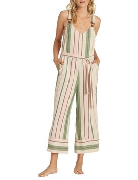 Bella Day Crop Overalls by Billabong