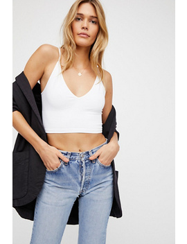 Ribbed V Neck Brami by Free People