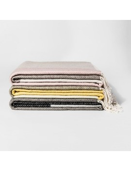 Color Block Throw Blanket   Project 62™ by Shop This Collection