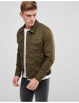 Only & Sons Twill Trucker Jacket by Only & Sons
