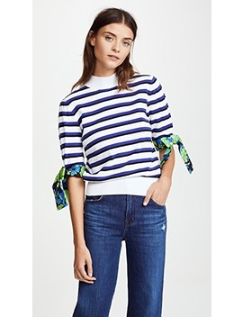 Knit Stripe Sweater by Msgm