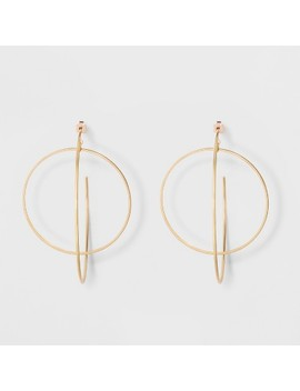 Hoop Earrings   A New Day™ Gold by A New Day™