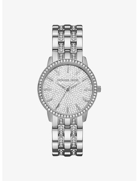 Nini Pavé Silver Tone Watch by Michael Kors
