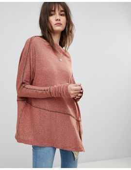 Free People London Town Thermal Long Sleeved Top by Free People