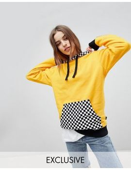 Vans Exclusive Hoodie With Checker Board Hood by Vans