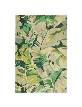 Capri Palm Leaf Indoor/Outdoor Rug   Liora Manne by Liora Manne