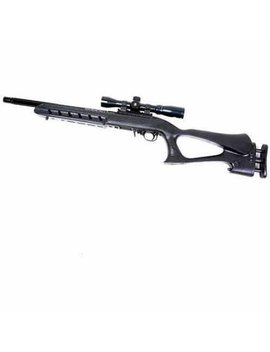 Pro Mag Pmaats1022 Archangel Deluxe Target Stock (Ruger 10/22) Black Polymer by Pro Mag