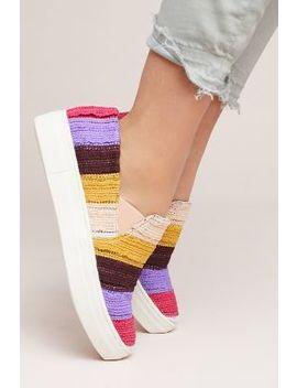 Seychelles Crocheted Fringe Sneakers by Seychelles