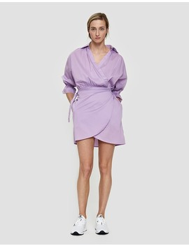 Lena Wrap Dress Lilac by Need Supply Co.