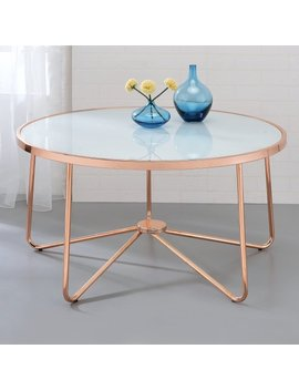 Acme Alivia Coffee Table, Multiple Colors by Acme Furniture