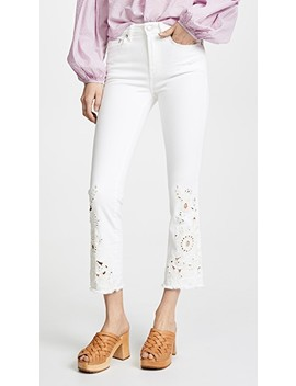 Cutwork Cigarette Jeans by Free People