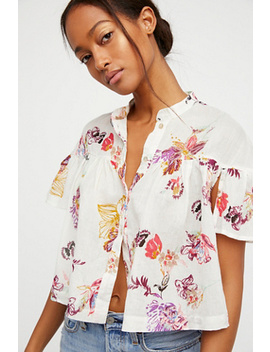 Sweet Escape Buttondown by Free People