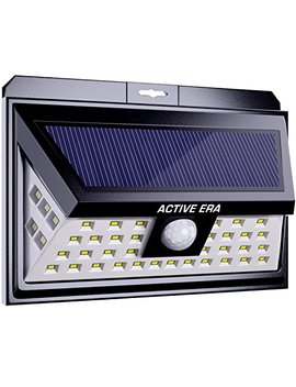 Active Era 44 X Outdoor Led Security Light   Solar Powered With Motion Sensor   Waterproof (1 Pack) by The Body Source