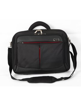 Bipra 15.6 Inch Laptop Bag With Shoulder Strap Black Suitable For 15.6 Inch Laptops by Bipra