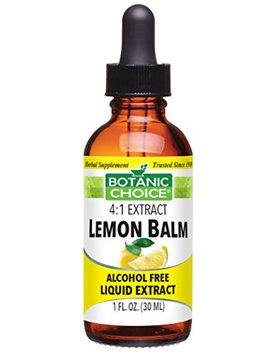 Lemon Balm, Soothing Calming Flavoring Agent, 1oz by Botanic Choice
