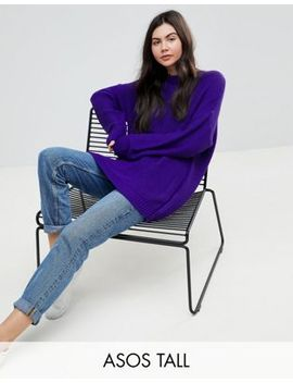 Asos Tall Oversized Chunky Sweater by Asos Tall