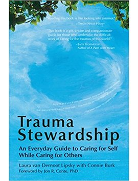 Trauma Stewardship: An Everyday Guide To Caring For Self While Caring For Others by Laura Van Dernoot Lipsky