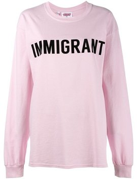 Immigrant T Shirt by Ashish
