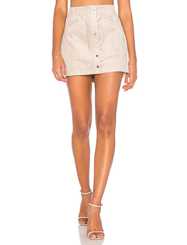 Suede Mini Skirt by Bcbgmaxazria