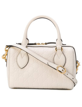 Small Soft Gucci Signature Top Handle Bag by Gucci
