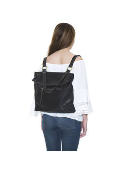 Convertible Backpack, Leather Backpack Women, Laptop Backpack, Leather Rucksack, Tote Backpack, Work Backpack, Convertible  Bag, by Etsy