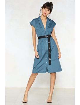 It Never Shirts To Ask Midi Dress by Nasty Gal
