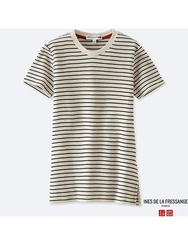 Women Idlf Waffle Crewneck Short Sleeve T Shirt by Uniqlo
