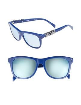 Basic 53mm Polarized Sunglasses by Moschino