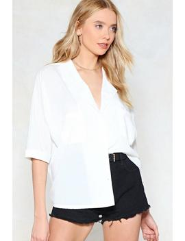 Make It Big Oversized Shirt by Nasty Gal